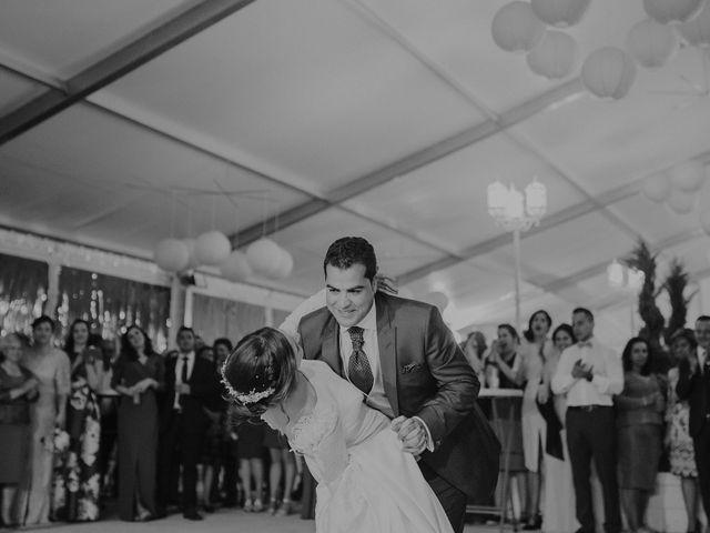 La boda de Jesús y Isabel en Villarrubia De Los Ojos, Ciudad Real 60