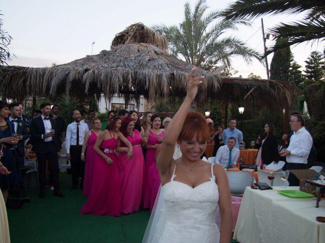 La boda de Cristian y Diana en Torrellano, Alicante 62