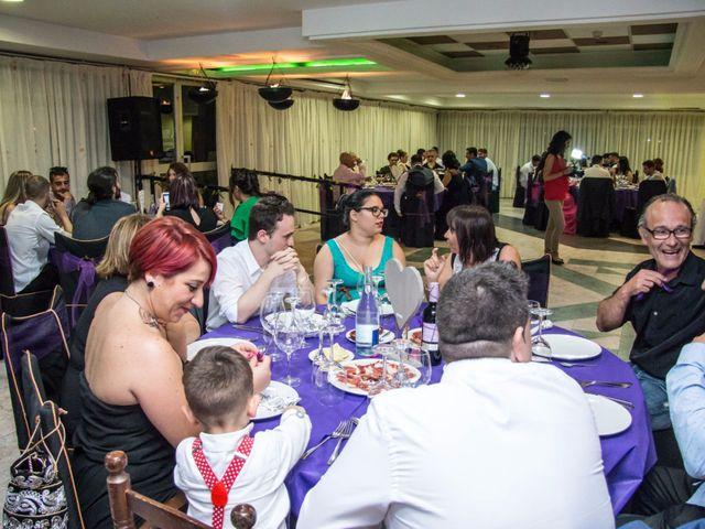 La boda de Cristian y Diana en Torrellano, Alicante 70