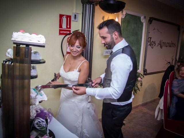 La boda de Cristian y Diana en Torrellano, Alicante 75