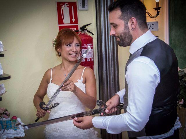 La boda de Cristian y Diana en Torrellano, Alicante 76