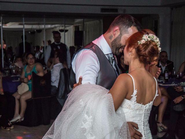 La boda de Cristian y Diana en Torrellano, Alicante 91
