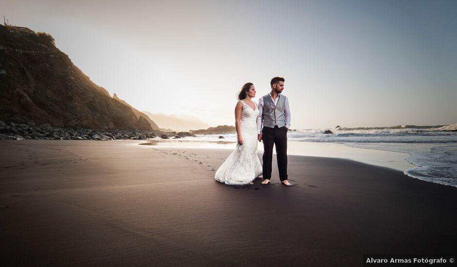 La boda de Samuel y Mönica en La Orotava, Santa Cruz de Tenerife