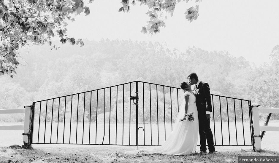 La boda de Pablo y Paula en Castañeda, Cantabria