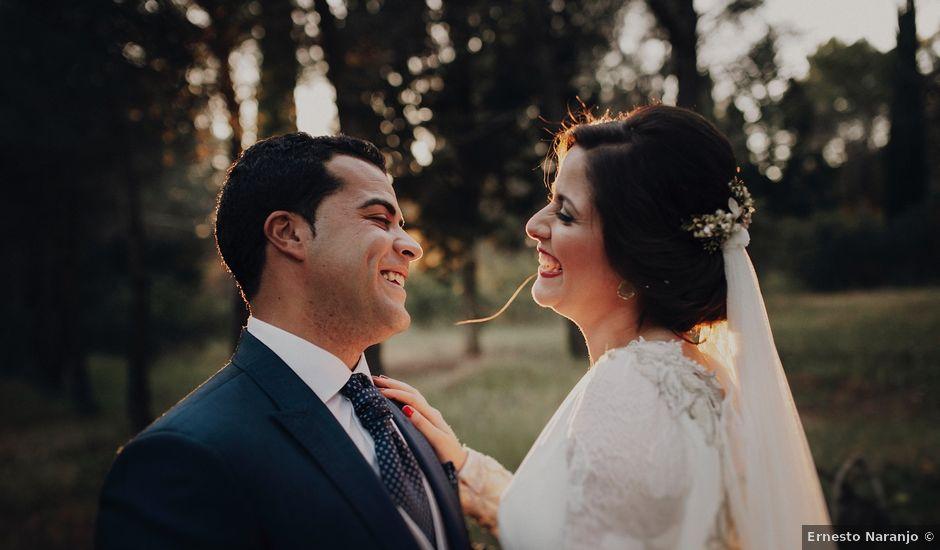 La boda de Jesús y Isabel en Villarrubia De Los Ojos, Ciudad Real