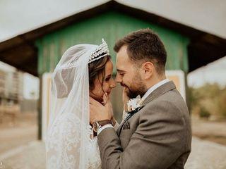 La boda de Milagros y Alberto