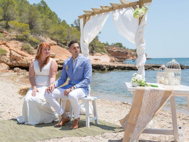 La boda de Adrià y Jennifer en L' Ampolla, Tarragona 11