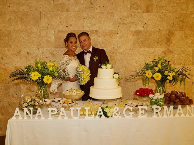La boda de Germán y Ana Paula en Fares, Girona 6
