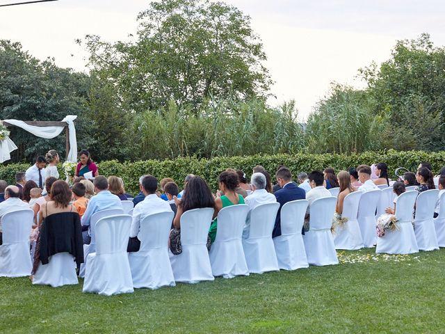 La boda de Germán y Ana Paula en Fares, Girona 13