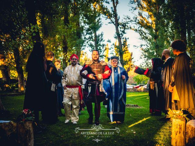 La boda de Samantha y Luis en Saelices, Cuenca 13