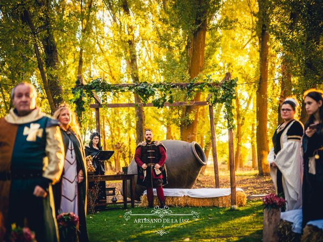 La boda de Samantha y Luis en Saelices, Cuenca 16