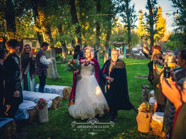 La boda de Samantha y Luis en Saelices, Cuenca 17
