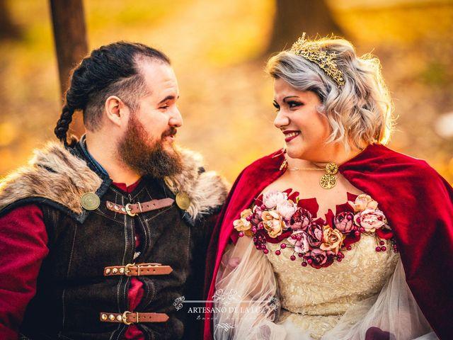 La boda de Samantha y Luis en Saelices, Cuenca 20