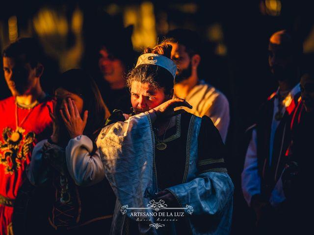 La boda de Samantha y Luis en Saelices, Cuenca 21