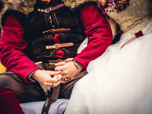 La boda de Samantha y Luis en Saelices, Cuenca 27