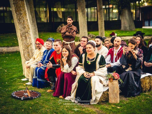 La boda de Samantha y Luis en Saelices, Cuenca 30