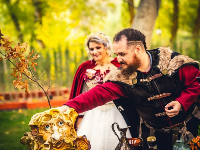 La boda de Samantha y Luis en Saelices, Cuenca 33