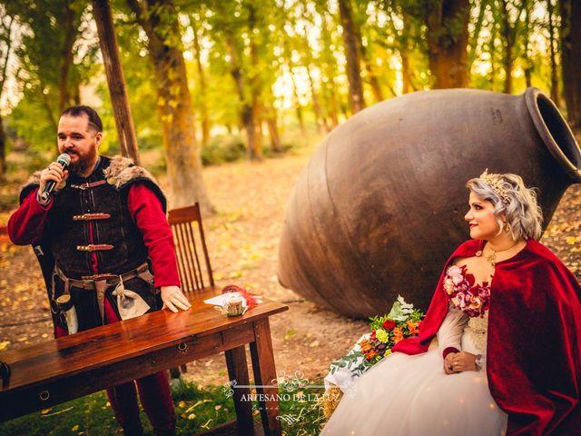 La boda de Samantha y Luis en Saelices, Cuenca 38