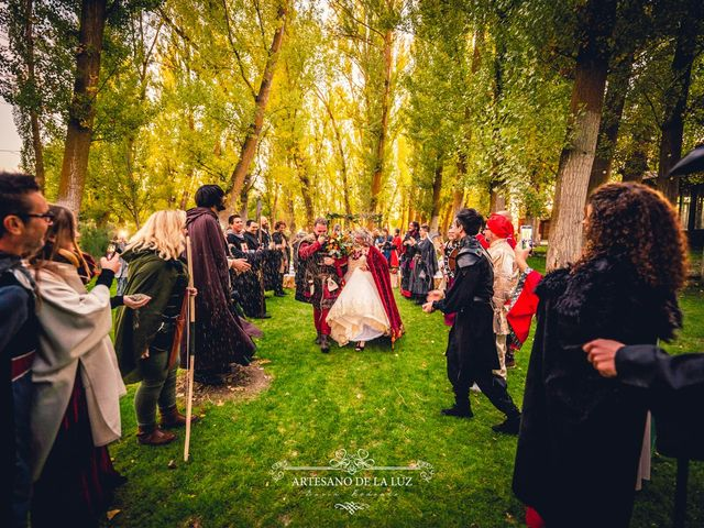 La boda de Samantha y Luis en Saelices, Cuenca 40