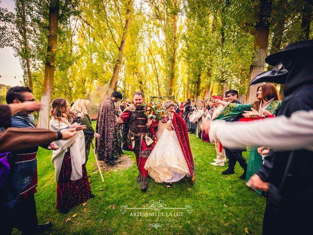 La boda de Samantha y Luis en Saelices, Cuenca 41