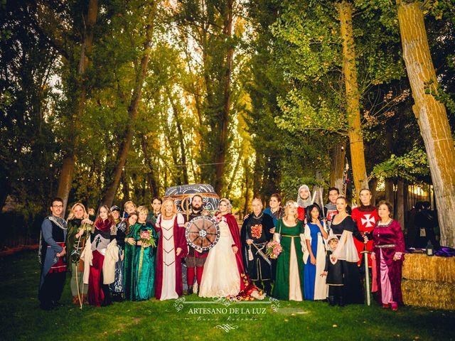 La boda de Samantha y Luis en Saelices, Cuenca 42