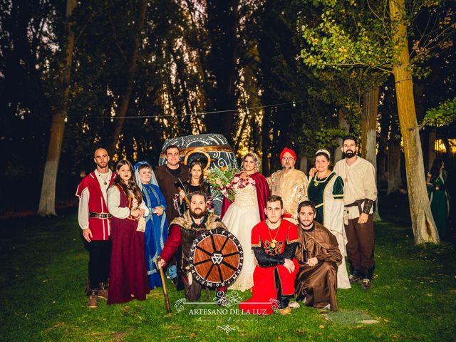 La boda de Samantha y Luis en Saelices, Cuenca 43