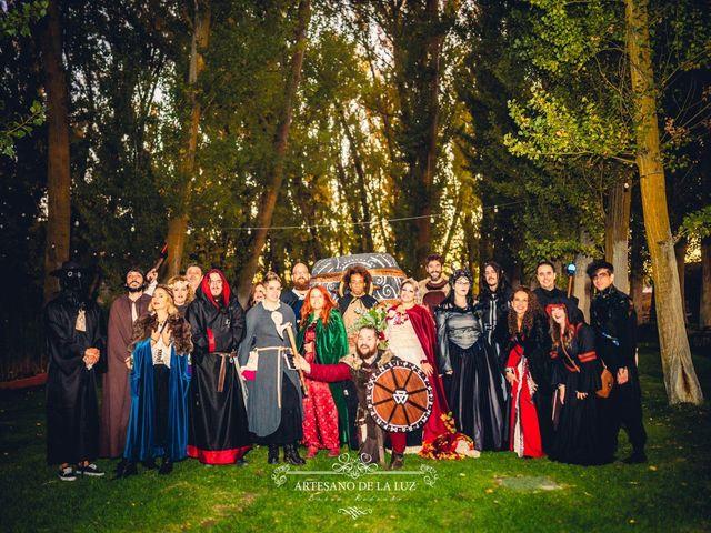 La boda de Samantha y Luis en Saelices, Cuenca 44
