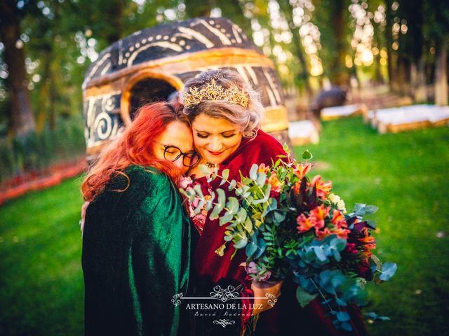 La boda de Samantha y Luis en Saelices, Cuenca 45