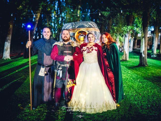 La boda de Samantha y Luis en Saelices, Cuenca 47