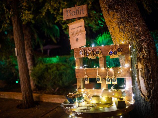 La boda de Samantha y Luis en Saelices, Cuenca 49
