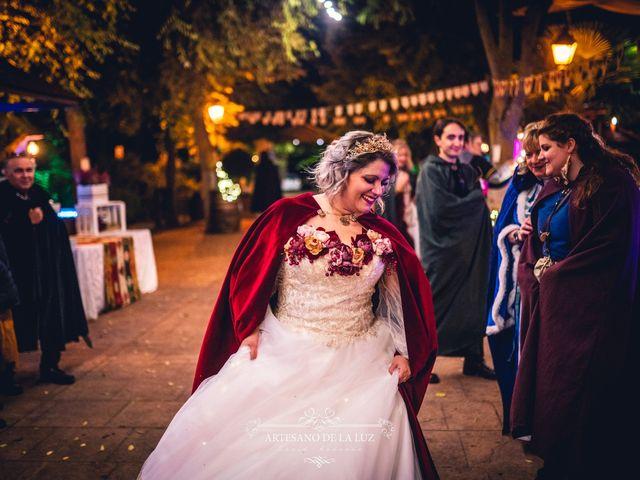 La boda de Samantha y Luis en Saelices, Cuenca 52