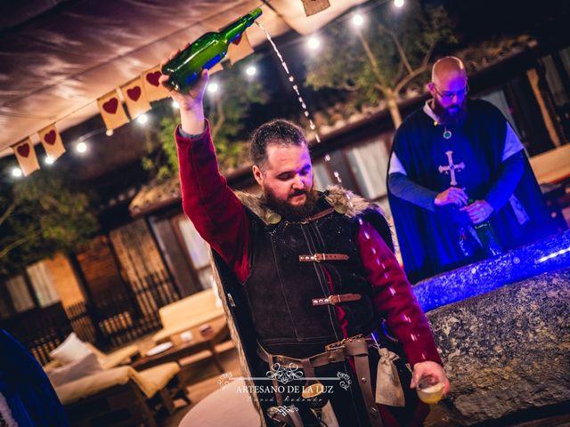 La boda de Samantha y Luis en Saelices, Cuenca 54