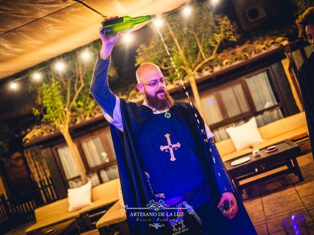 La boda de Samantha y Luis en Saelices, Cuenca 57