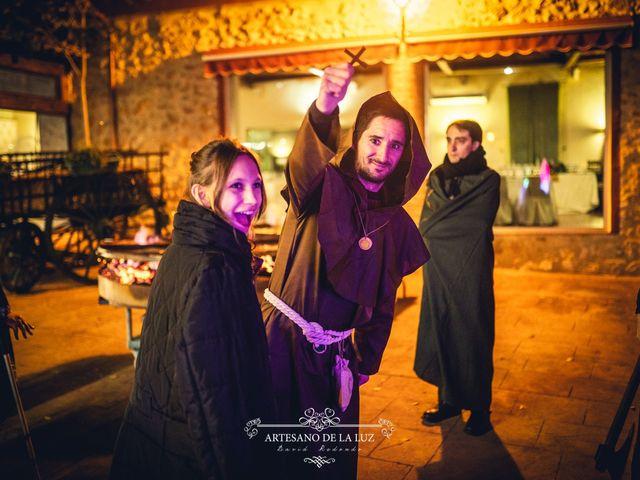 La boda de Samantha y Luis en Saelices, Cuenca 58