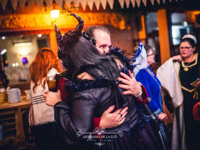 La boda de Samantha y Luis en Saelices, Cuenca 61