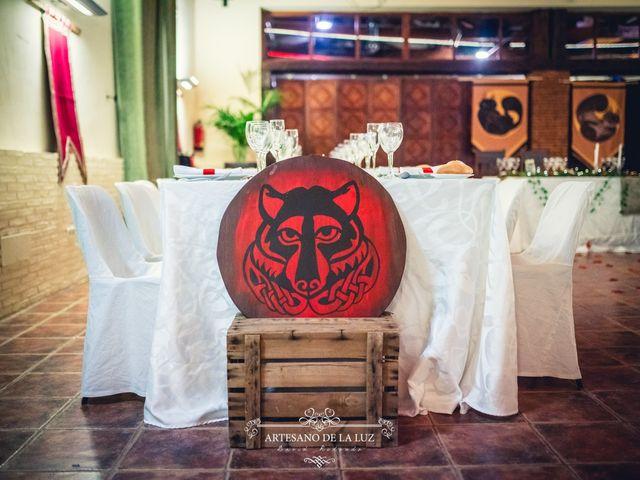 La boda de Samantha y Luis en Saelices, Cuenca 82