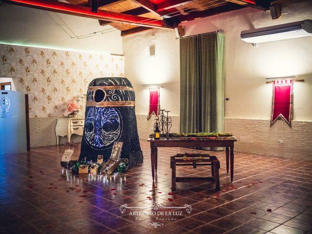 La boda de Samantha y Luis en Saelices, Cuenca 84