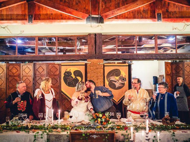 La boda de Samantha y Luis en Saelices, Cuenca 86