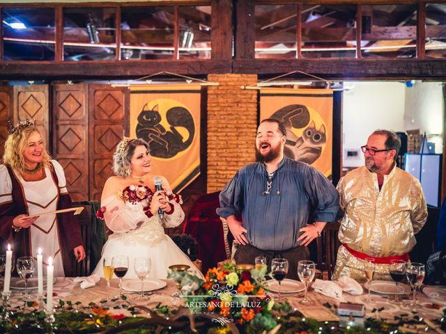La boda de Samantha y Luis en Saelices, Cuenca 87