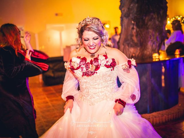 La boda de Samantha y Luis en Saelices, Cuenca 94