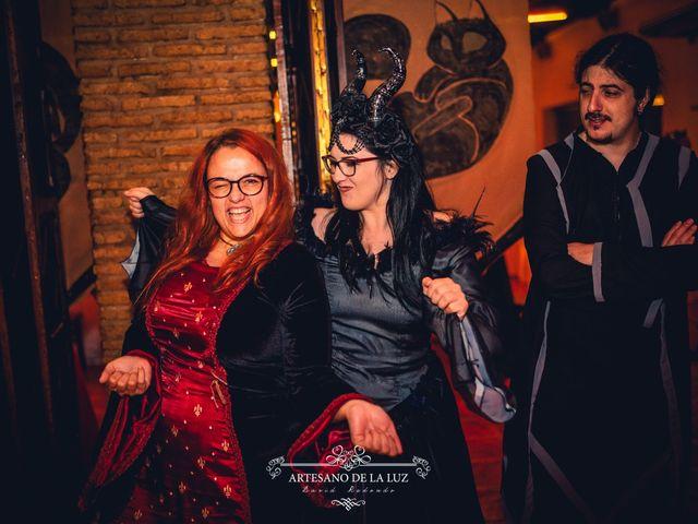 La boda de Samantha y Luis en Saelices, Cuenca 95