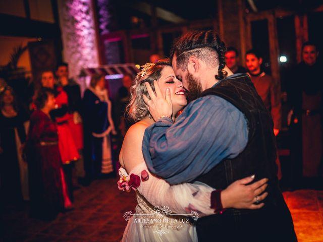 La boda de Samantha y Luis en Saelices, Cuenca 97