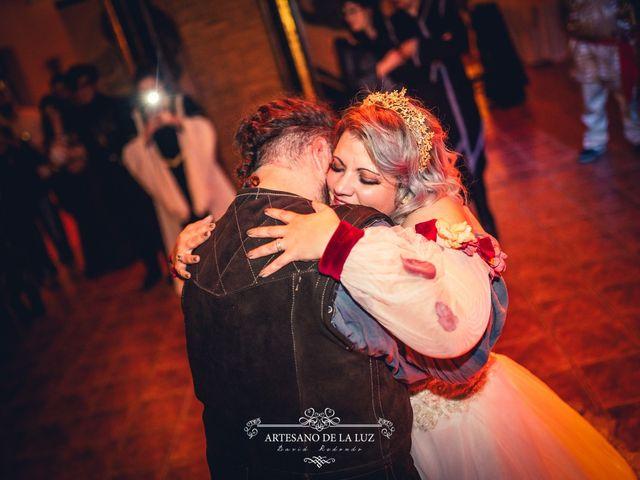 La boda de Samantha y Luis en Saelices, Cuenca 99
