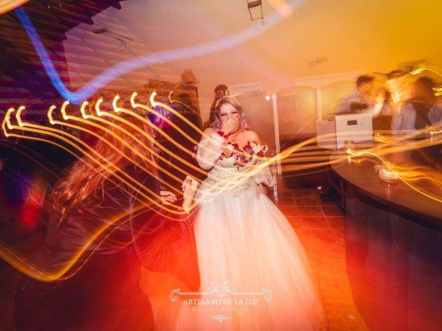 La boda de Samantha y Luis en Saelices, Cuenca 101