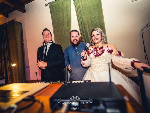 La boda de Samantha y Luis en Saelices, Cuenca 106