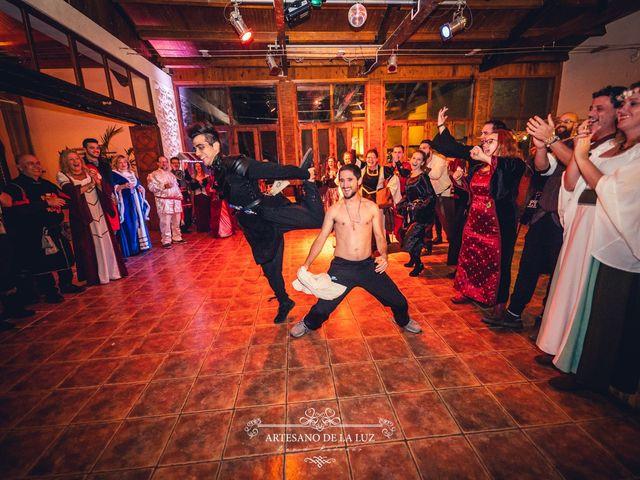 La boda de Samantha y Luis en Saelices, Cuenca 113