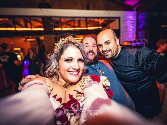 La boda de Samantha y Luis en Saelices, Cuenca 114