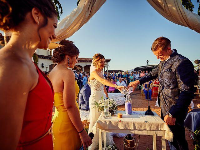 La boda de Juanlu y Vero en Hornachos, Badajoz 38