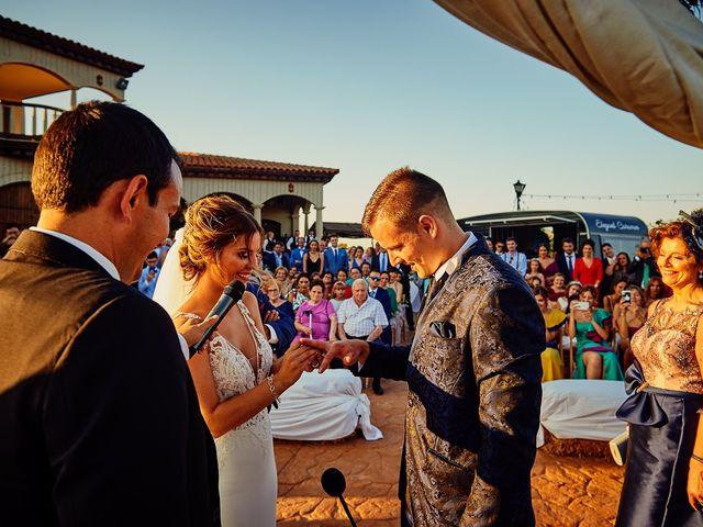 La boda de Juanlu y Vero en Hornachos, Badajoz 45