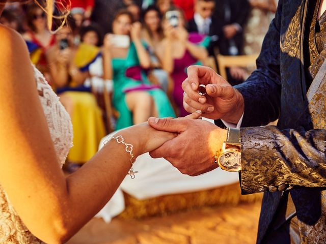 La boda de Juanlu y Vero en Hornachos, Badajoz 46